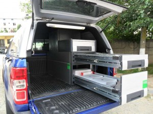 Ford Ranger - mobilier specializat