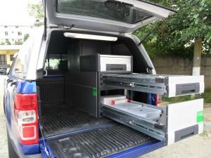 Ford Ranger - mobilier specializat
